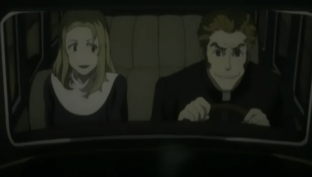 Isaac and Miria in car
